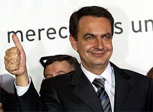 Zapatero está nervioso