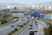 La carretera comarcal Murcia-Cartagena