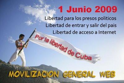1 de Junio. Movilizados por Cuba