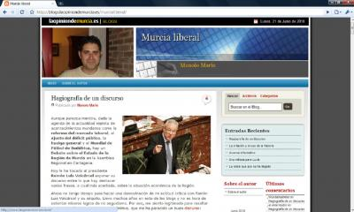 Murcialiberal en La Opinion de Murcia